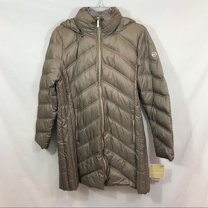 Michael Kors Taupe Packable Down Park New
